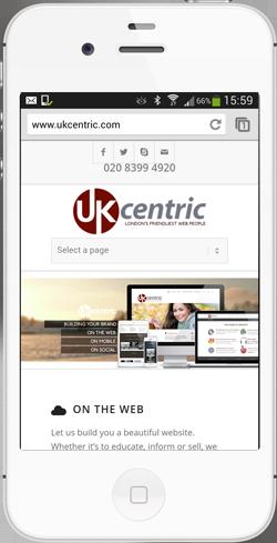 iPhone UKcentric