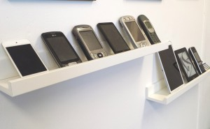 Collection of smartphones