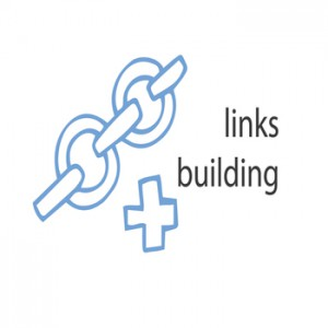 SEO link building drawing