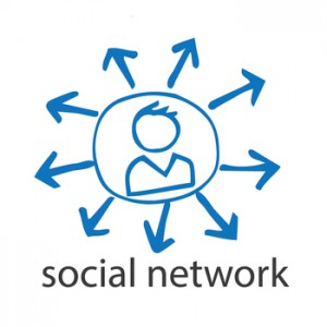 seo social media illustration