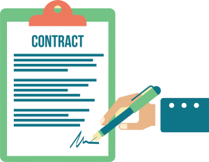 Contracts for website maintenance