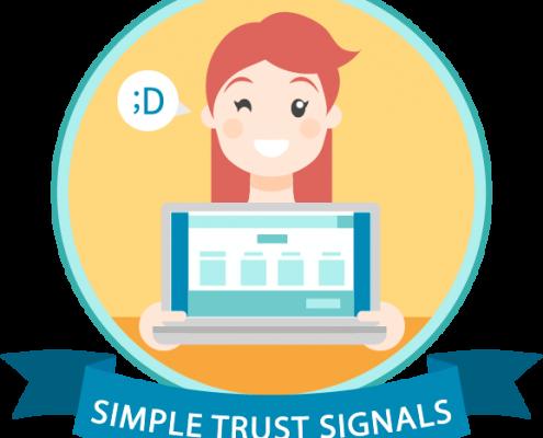 Simple trust signals